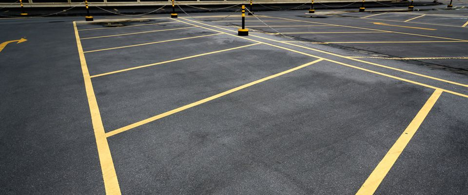 Parking lot maintenance in Vancouver British Columbia